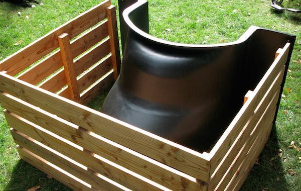 Orto per persone disabili: sagomatura delle vasche TerraForm