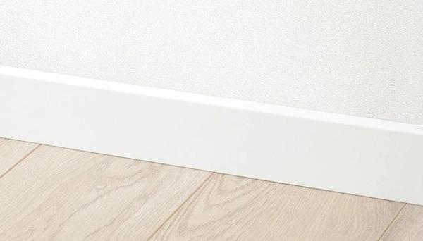LAVHED, battiscopa IKEA bianco