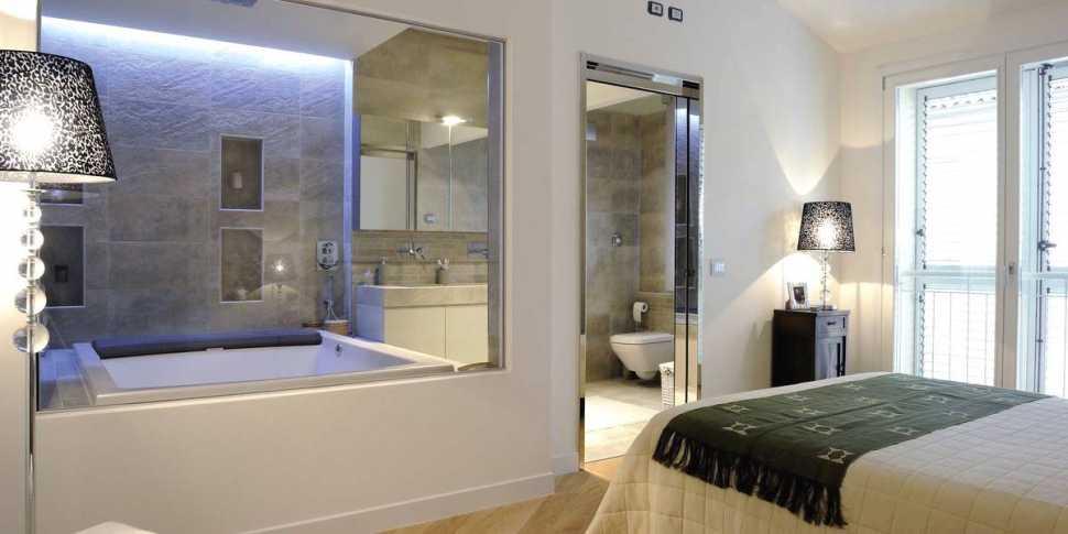 Ricavare un bagno in camera - rivestimenti Graniti Fiandre