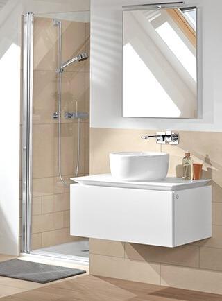 Bagno con lavabo a catino Villeroy & Boch