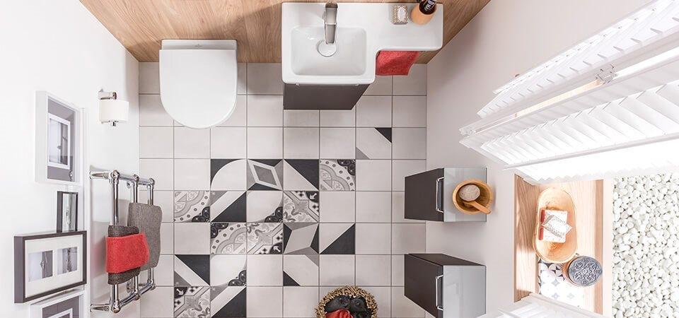 Ricavare un bagno in camera: arredo Villeroy & Boch