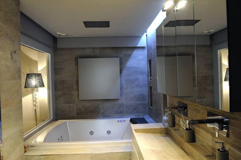 Bagno per camera padronale - rivestimenti Graniti Fiandre