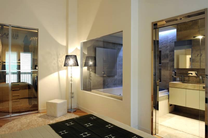 Bagno in camera da letto - rivestimenti Graniti Fiandre