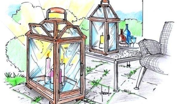 Lanterne da giardino per magiche atmosfere negli spazi esterni