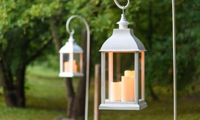 Lanterne pensili da giardino Luminal Park