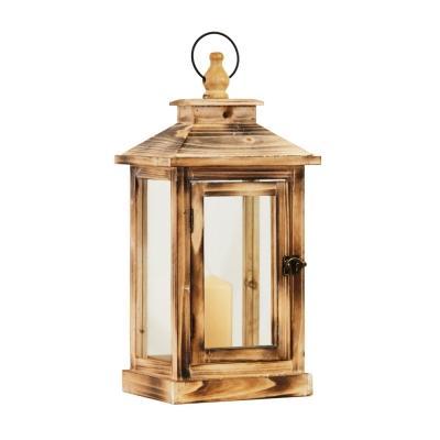 Lanterna in legno naturale - Cà Dovani