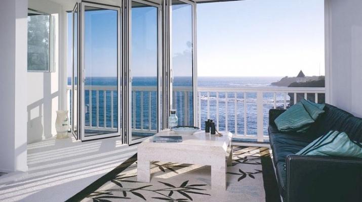Veranda pieghevole sul balcone - COAA Infissi