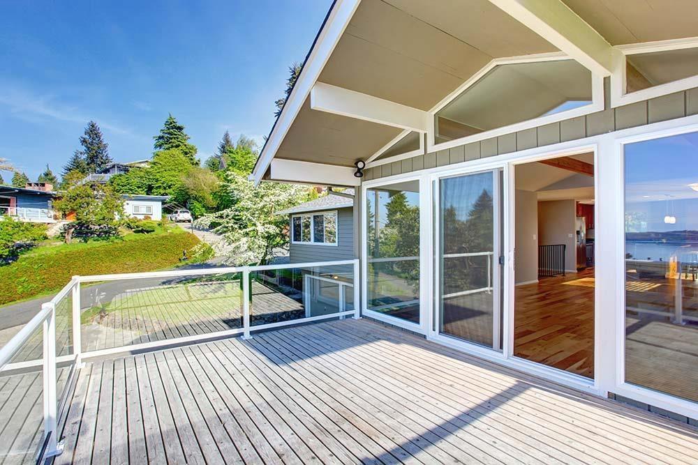 Veranda su balcone - COAA Infissi