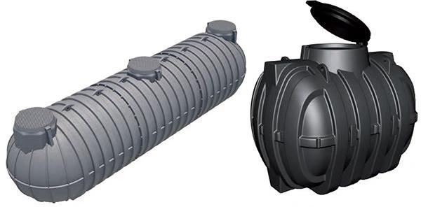 Cisterne da interro in polietilene, di Rototec