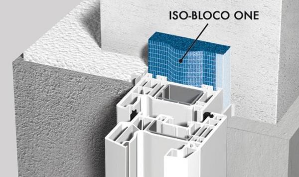 Nastro isolante autoespandente per la sigillatura degli infissi ISO-BLOCO ONE di ISO Chemie