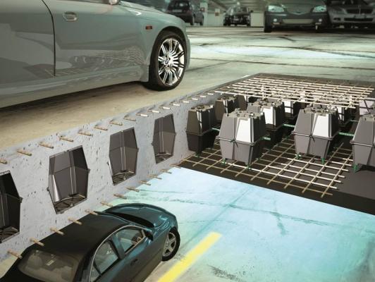 Casseforme a perdere per solai in cemento armato Sub di Project for Building