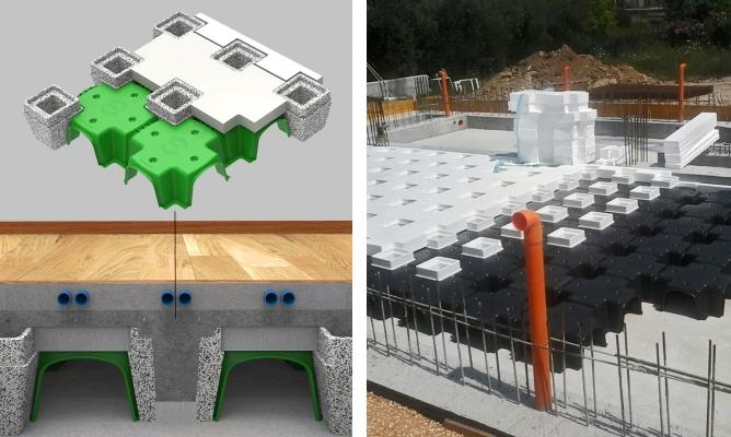 Sistema per vespai ventilati e coibentati IsolCupolex Plus di Pontarolo Engineering