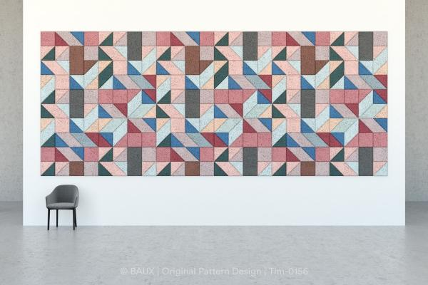 Piastrelle fonoassorbenti Mosaic di Baux