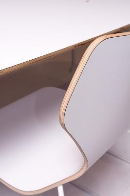 Tavolo e sedia da cucina in nanomateriale Fenix