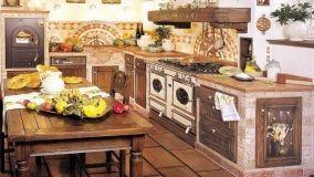 Quello che c'è da sapere sulle cucine in vera o finta muratura