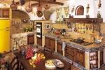 Cucina in finta muratura Nonna Lina di Fonte del Rustico