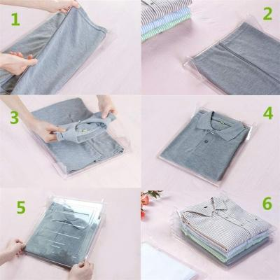 Tecniche di piegatura maglie e magliette