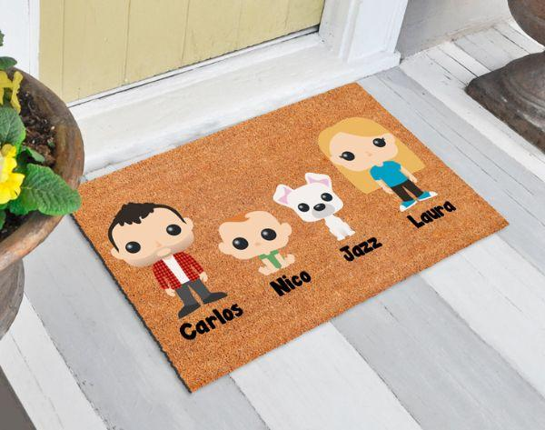 Zerbino esterno con disegni personalizzati Madeingift.com