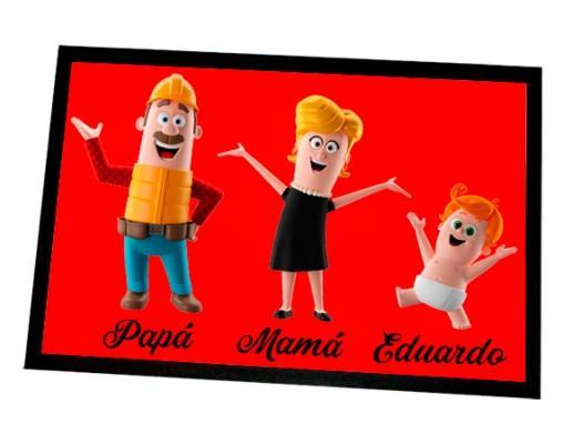 Zerbino colorato personalizzato Madeingift.com