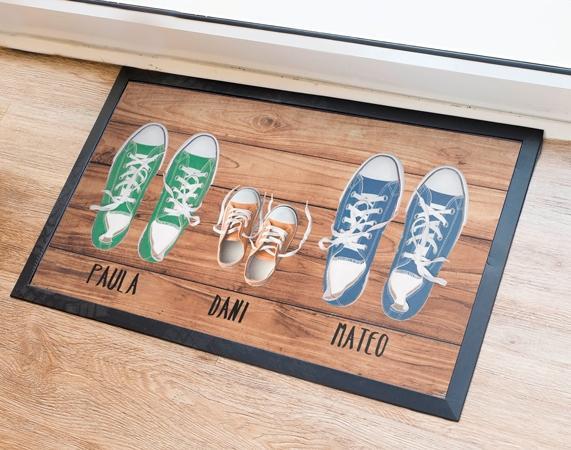 Zerbino ingresso personalizzato con scarpe Madeingift.com