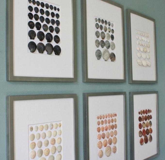 Quadri con conchiglie, da sandandsisal.com