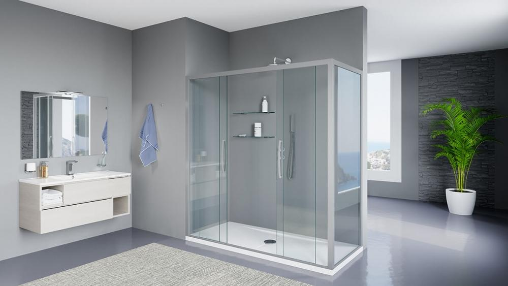 Vasca da bagno trasformata in doccia - Remail