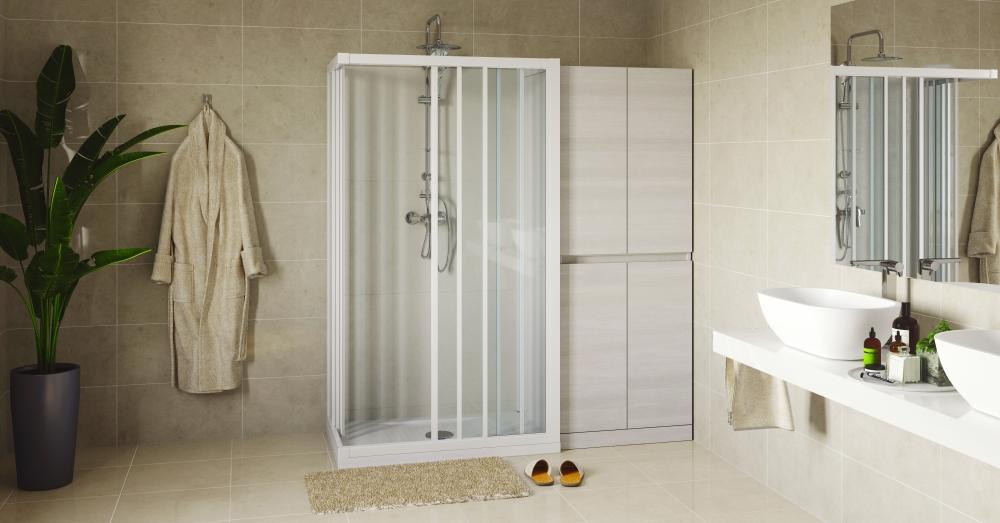 Soluzione salvaspazio sostituzione vasca-doccia - Remail