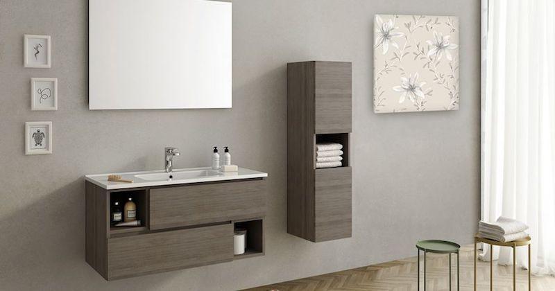 Mobiletto Open - Design e foto by Bagni Italiani