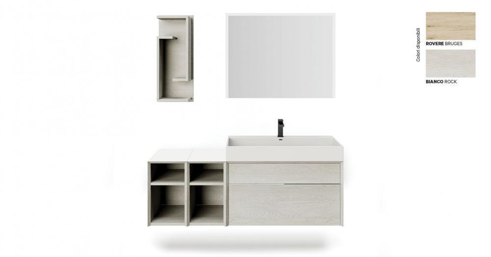 Mobile Space di Bagni Italiani per bagno rinnovato