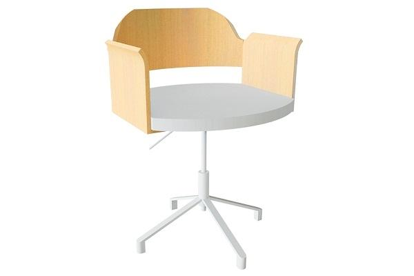 Sedia posturale girevole Fjallberget di Ikea