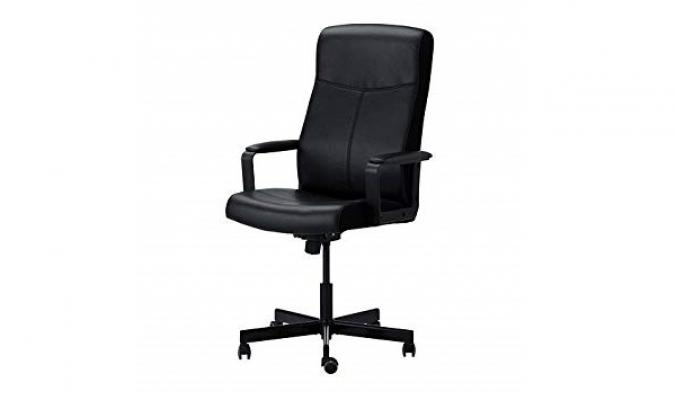 Poltrona posturale Millberget nera di Ikea