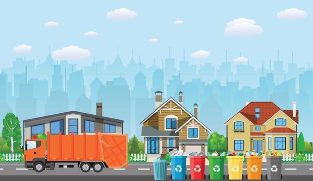 Parcheggio in condominio e posizionamento bidoni