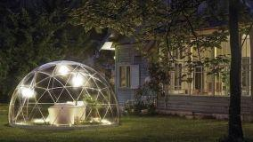 L'igloo da giardino rivoluziona il concetto di spazio esterno