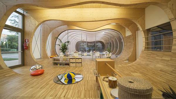 Travi curve di legno lamellare, by Rubner Holzbau