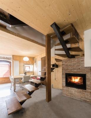 Soppalco in legno lamellare, by Costantini Legno