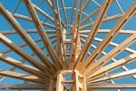 Struttura complessa in legno lamellare di Rubner Holzbau