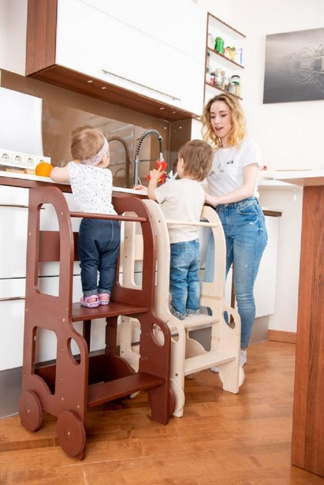 Learning tower per i piccoli di casa, da toddlerinfamily.com