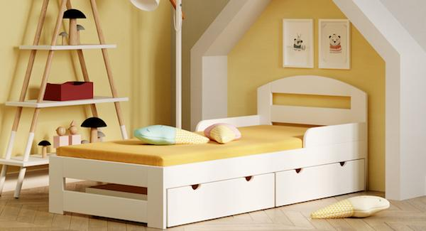 Letto singolo per bambini Timon S - Design e Foto by WNM Group