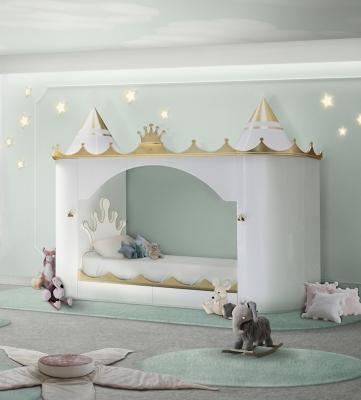 Letto bimbi Kings & Queens Castle - Design e foto by Circu