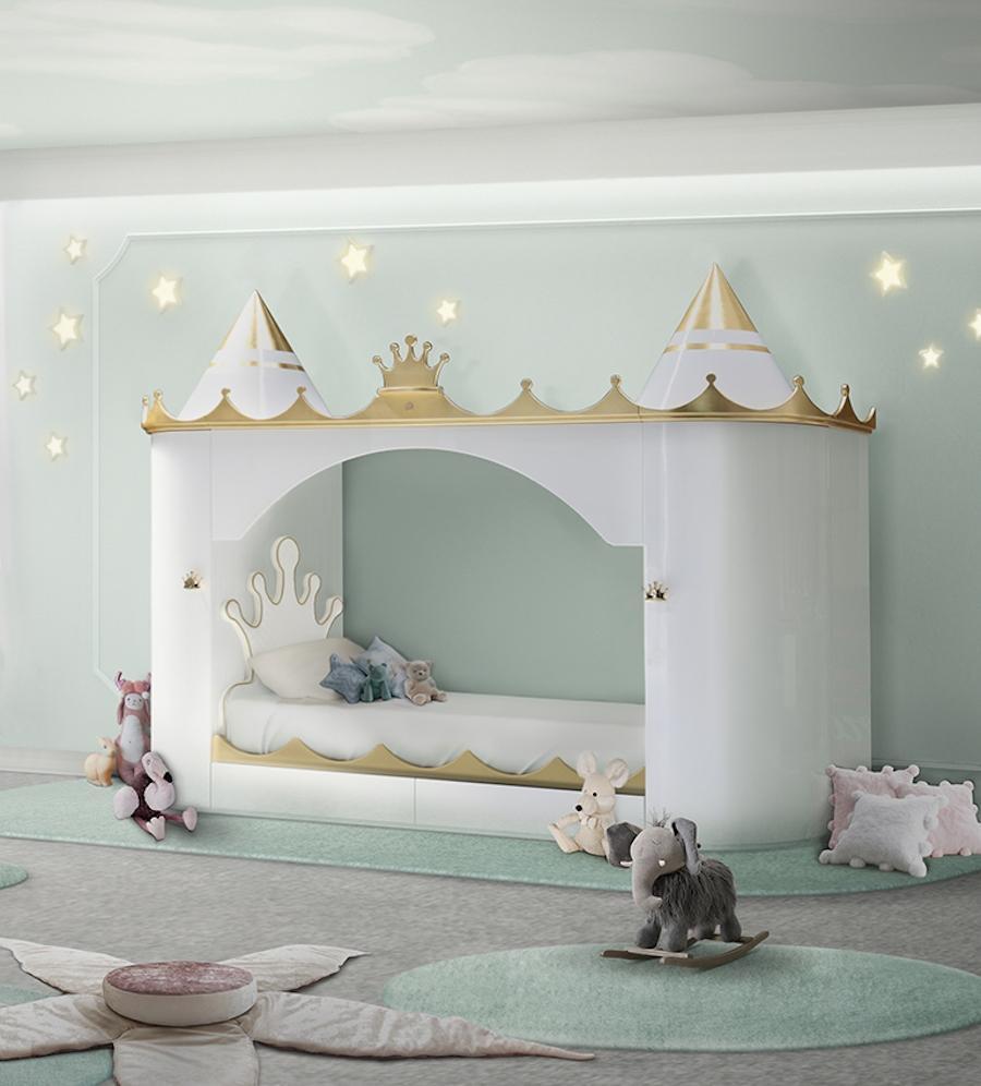 Letto bimbi Kings & Queens Castle - Design e foto by Circu