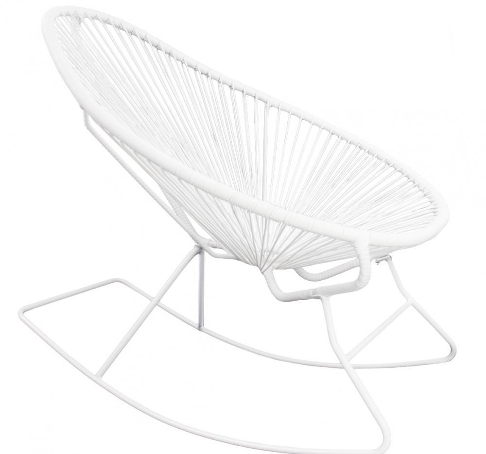 Sedia a dondolo Grace in polietilene - Design e foto by Westwing