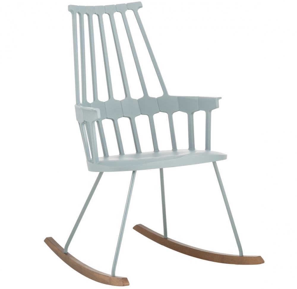 Sedia a dondolo da esterni Comback di Kartell - Foto by Westwing