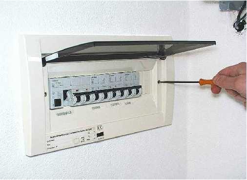 Quadro elettrico domestico