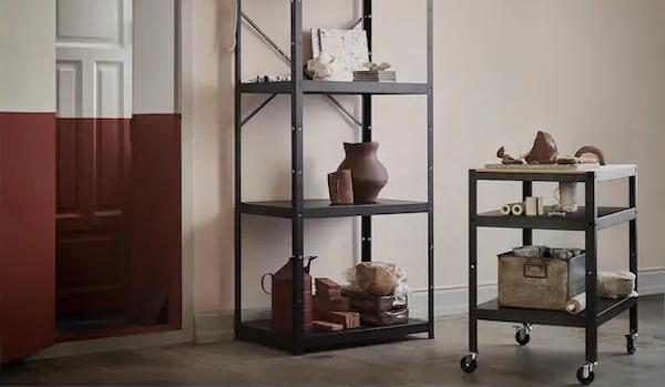 Sistema componibile BROR con carrello - Design e foto by IKEA