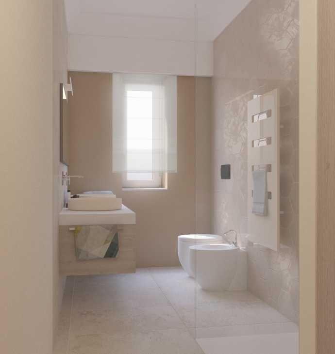 Progetto nuovo bagno di Blu Space