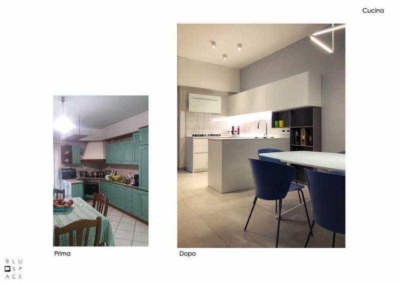 Restyling cucina progetto di Blu Space