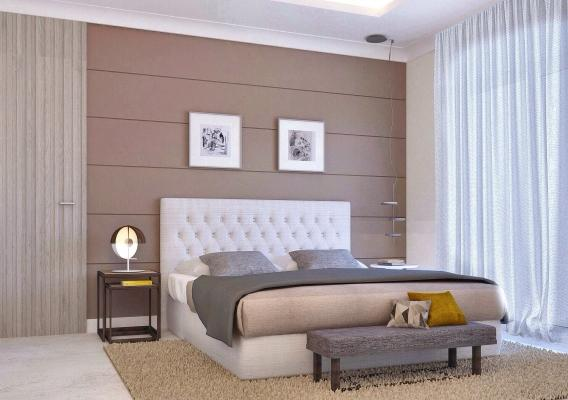 Restyling camera da letto a cura di Blu Space