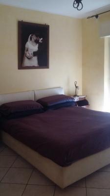 Camera da letto prima del restyling a cura di Blu Space