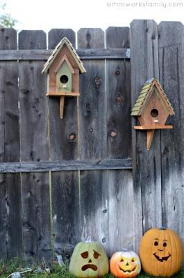 Casette per uccelli in legno, da acraftyspoonful.com