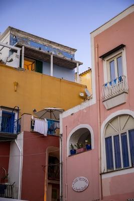 Rivestimenti esterni stucchi colorati foto di Dario Luongo
